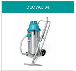 Toebehoren Duovac 34 stof- en waterzuiger