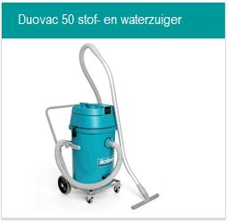 Toebehoren Duovac 50 stof- en waterzuiger