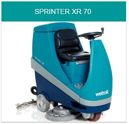 Toebehoren Wetrok Sprinter XR70