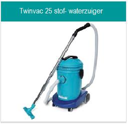 Toebehoren Twinvac 25 stof-waterzuiger