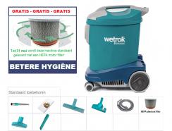 Wetrok Comfort 11 Met Gratis HEPA Absoluut Filter