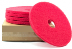 "Poly pad Rood 13"" 330 x 22 mm."