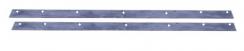 Steunrubbers 405 x 23 mm, voor waterzuigmondstuk nr. 21/42