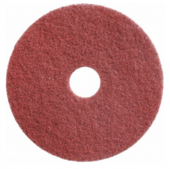 Twister pad rood - diameter 43cm x 22mm (2) (diamant pad)